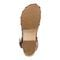 Earth Tiku - Women's Sandal Sandal - Sand Brown - Bottom