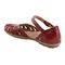 Earth Cahoon - Women's Mary Jane Sandal -  CAHOON 602947WLEA Regal Red 03