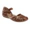 Earth Cahoon - Women's Mary Jane Sandal -  CAHOON 602947WLEA Almond 01