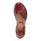 Earth Cahoon - Women's Mary Jane Sandal -  CAHOON 602947WLEA Regal Red 05