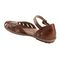 Earth Cahoon - Women's Mary Jane Sandal -  CAHOON 602947WLEA Almond 03