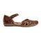Earth Cahoon - Women's Mary Jane Sandal -  CAHOON 602947WLEA Almond 02