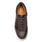 Vionic Brok Men's Casual Lace Up Sneaker - Greige - 3 top view