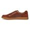 Vionic Brok Men's Casual Lace Up Sneaker - Dark Brown - 2 left view