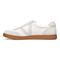 Vionic Brok Men's Casual Lace Up Sneaker - White - 2 left view