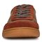 Vionic Brok Men's Casual Lace Up Sneaker - Dark Brown - 6 front view