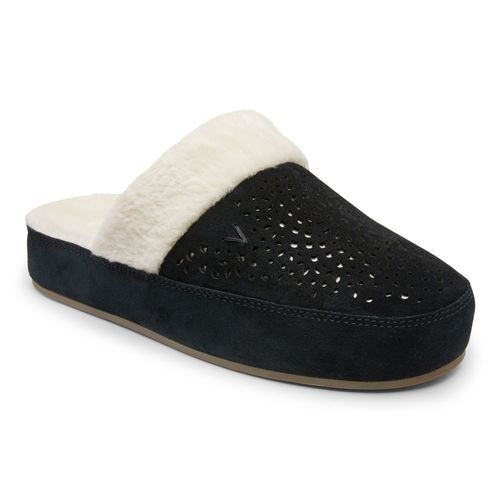 Vionic Leona Women's Supportive Slipper - Black