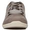 Vionic Lindsey Women's Casual Supportive Shoe - Slate Grey Nubuck - 6 front view