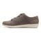 Vionic Lindsey Women's Casual Supportive Shoe - Slate Grey Nubuck - 2 left view