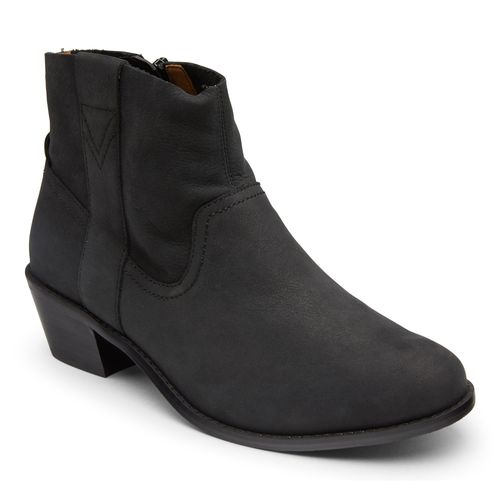 Vionic Roselyn Women's Ankle Boot - Black - 1 profile view