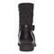 Vionic Thea Women's Leather Boot With Adjustable Strap - Black - 5 back view