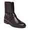 Vionic Thea Women's Leather Boot With Adjustable Strap - Black - 1 profile view