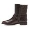 Vionic Thea Women's Leather Boot With Adjustable Strap - Chocolate - 2 left view
