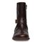 Vionic Thea Women's Leather Boot With Adjustable Strap - Chocolate - 6 front view