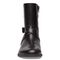 Vionic Thea Women's Leather Boot With Adjustable Strap - Black - 6 front view