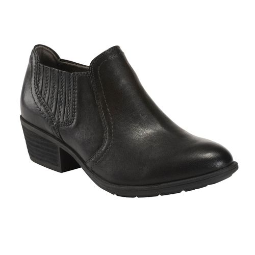 Earth Shoes Peak Peru Women's Ankle Boot - Black - Profile