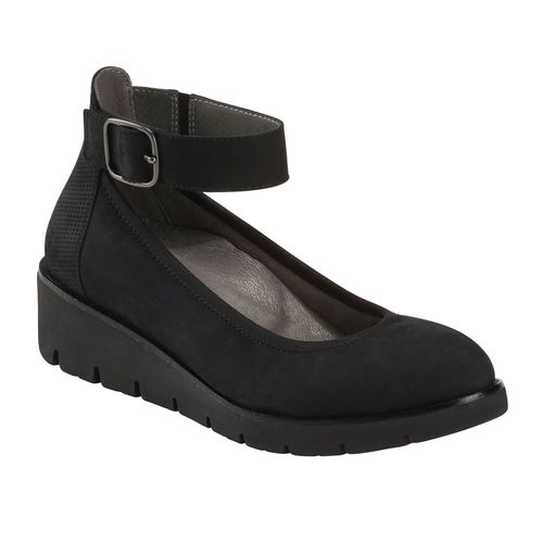 Earth Shoes Zurich Sion Women's Mary Jane - Black - Profile
