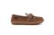 Pendleton Women's Lakehouse Moc Slipper Suede Wool - Toasted Coconut - Lateral Side