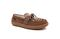 Pendleton Women's Lakehouse Moc Slipper Suede Wool - Toasted Coconut - Angle