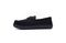 Pendleton Men's Rancho Moc Suede & Pendleton Wool Slipper - Black - Medial Side