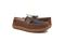Pendleton Men's Rancho Moc Suede & Pendleton Wool Slipper - Toasted Coconut - Pair