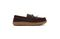 Pendleton Men's Rancho Moc Suede & Pendleton Wool Slipper - Pine Cone - Lateral Side