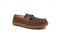 Pendleton Men's Rancho Moc Suede & Pendleton Wool Slipper - Toasted Coconut - Angle