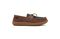 Pendleton Men's Rancho Moc Suede & Pendleton Wool Slipper - Toasted Coconut - Lateral Side