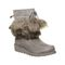 Bearpaw Arden Women's Leather Boots - 2535W  051 - Gray Fog - Profile View