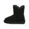 Bearpaw Rosaline Toddler Toddler Leather Boots - 2588T  011 - Black - Side View