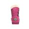 Bearpaw Rosaline Toddler Toddler Leather Boots - 2588T  638 - Party Pink - Back View