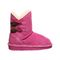 Bearpaw Rosaline Toddler Toddler Leather Boots - 2588T  638 - Party Pink - Side View