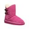 Bearpaw Rosaline Toddler Toddler Leather Boots - 2588T  638 - Party Pink - Profile View