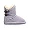 Bearpaw Rosaline Toddler Toddler Leather Boots - 2588T  641 - Wisteria - Side View