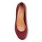 Vionic Hannah Women's Ballet Flats with Arch Support - Wine Suede - 3 top view