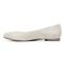 Vionic Hannah Women's Ballet Flats with Arch Support - Dark Taupe Suede Suede - 2 left view