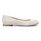 Vionic Hannah Women's Ballet Flats with Arch Support - Dark Taupe Suede Suede - 4 right view