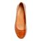 Vionic Hannah Women's Ballet Flats with Arch Support - Espresso Croc - 3 top view