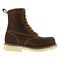 "Iron Age Solidifier Men's 8"" EH Comp Toe Waterproof Work Boot - Brown - Side View"