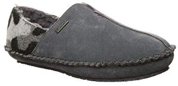 Bearpaw Marc Men's Cozy Slippers - 2539M - Charcoal