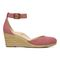 Vionic Amy Women's Wedge Sandal - 4 right view - Marsala