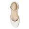 Vionic Amy Women's Wedge Sandal - 3 top view - Cream