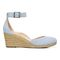 Vionic Amy Women's Wedge Sandal - 4 right view - Sky