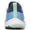 Vionic London Women's Sneaker with Bungee Laces - Bluebell - 5 back view
